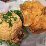 Amazing burgers and buffalo chicken burger.