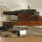 In Victorian times, the Nothe Fort was armed with Armstrong Rifled Muzzle Loading cannons.
