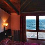 Habitación del piso 5 y la vista increíble del Lago Nahuel Huapi