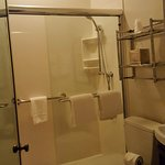 very large shower. very clean and nice
