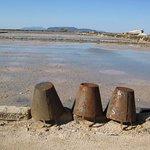 Strumenti antichi per la raccolta del sale