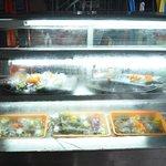 seafood displayed @Pedros