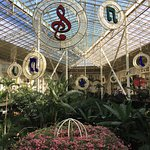 Decorations in the Garden Conservatory