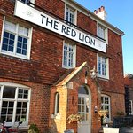 Front of the Red Lion