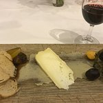 Cheese Plate with Baba Garnish