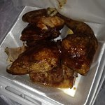 BBQ chicken was good..