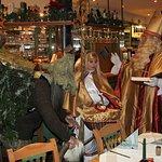 Hl. Nikolaus im Wirtshaus