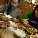 Sea Food Thali... 2 servings heavy for 3 people