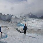 Spectacular glacier landscape!