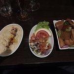 Hummus, och två andra Meze