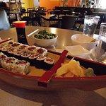 Maki Rolls of tuna and spicy tuna