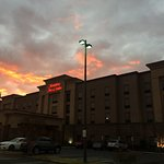 The New Hampton Inn in Winston Salem NC