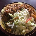 Check out the chicken curry.