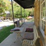 We love the veranda and the new furniture.