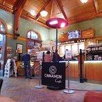 Inside Cinnamon Cafe