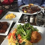 Breakfast at Caffe Martier, Atlantic Avenue - Highly recommend!