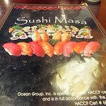 A wide selection of authentic menu items
