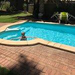pool inside roadhouse