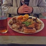 Roast Chicken Sunday lunch at the Garden House