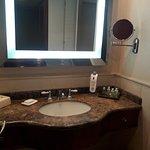 Baño de la habitación ejecutiva