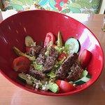 Carb conscious salad