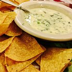 Azteca Queso Dipt (with chillies)---- must try!