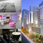 Hotel Exterior plus Elite Level accommodations and amenities