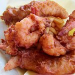 Shrimp, fish, and chips