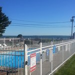 The pool and the sea