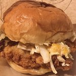 The Boxcar Chicken Sandwich