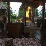 Inside Blue Bali.