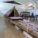 Canoe in the museum