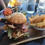 Mother Clucker burger, my favourite