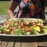 Fresh vegetarian Special Salad of the day