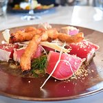 Seared Sashimi Grade Yellowfin Tuna