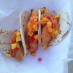 fish tacos were so yummy