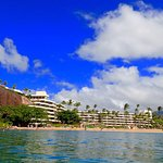 Hotel needs an update but it is still beautiful to stay right on the beach in Maui