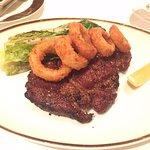 The special ribeye steak