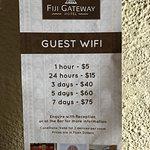Wifi pricing...