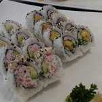 California Roll and Shrimp Roll