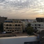 Memories of Dakar from rooftop; outside my room toumbouctou