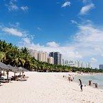 Пляж с бесплатными лежаками