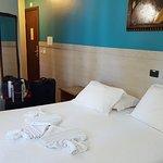 """Habitación """"de lujo"""" según el gerente de este hotel"""