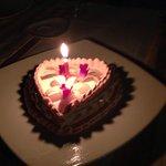 Surprised cake for my honeymoon!