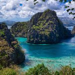 must famous view of coron bay
