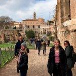 Roman Forum with Silvia