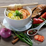 Laksa offered at our Le'Mon Restaurant