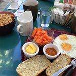 The Cafe Tico breakfast. My wife had the yogart. Sooo good!