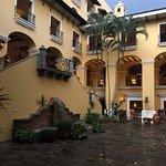 Inner courtyard after a rain