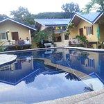 The big and beautiful swimming pool